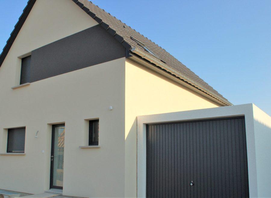 Alsace maison 2 pans