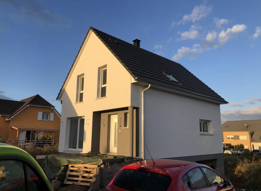 Construction deux pans Haut-Rhin Alsace