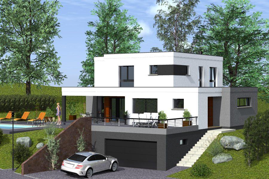 construire une maison cubique ventana blog. Black Bedroom Furniture Sets. Home Design Ideas