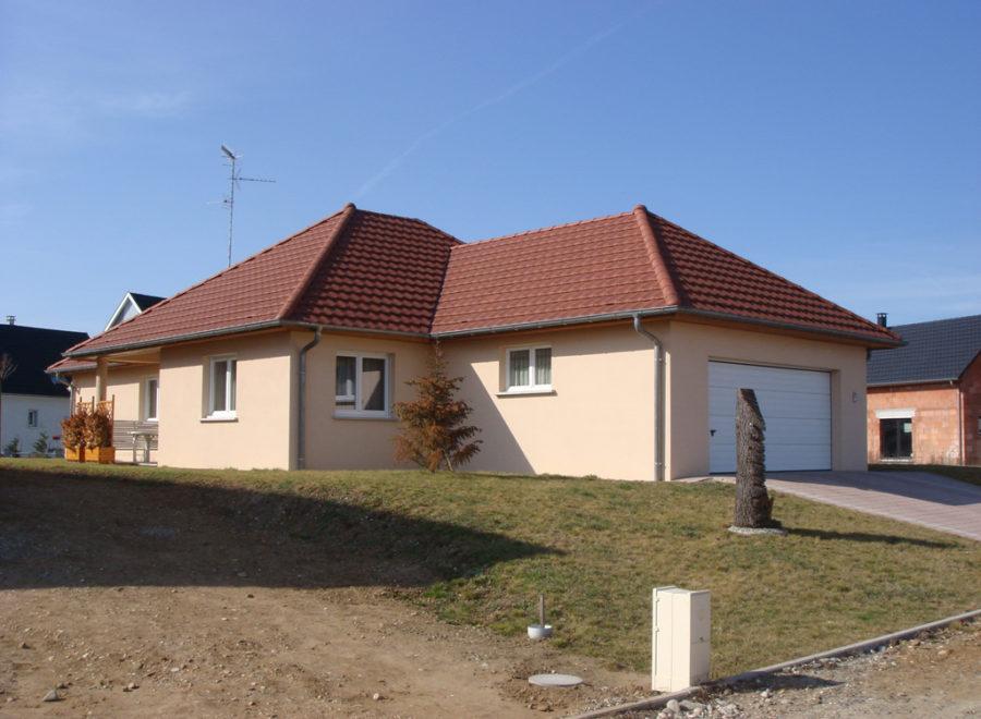 Maisons en L