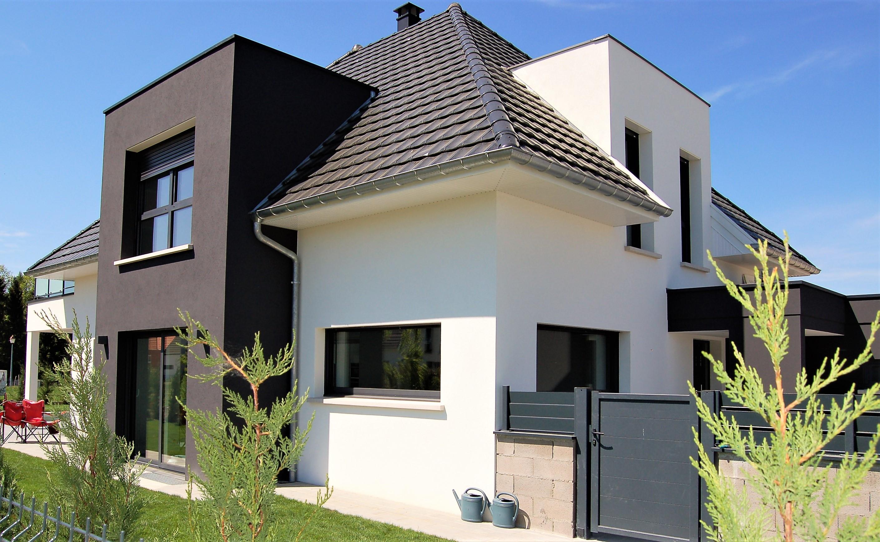 Construction maison contemporaine maisons begimaisons begi for Construction contemporaine