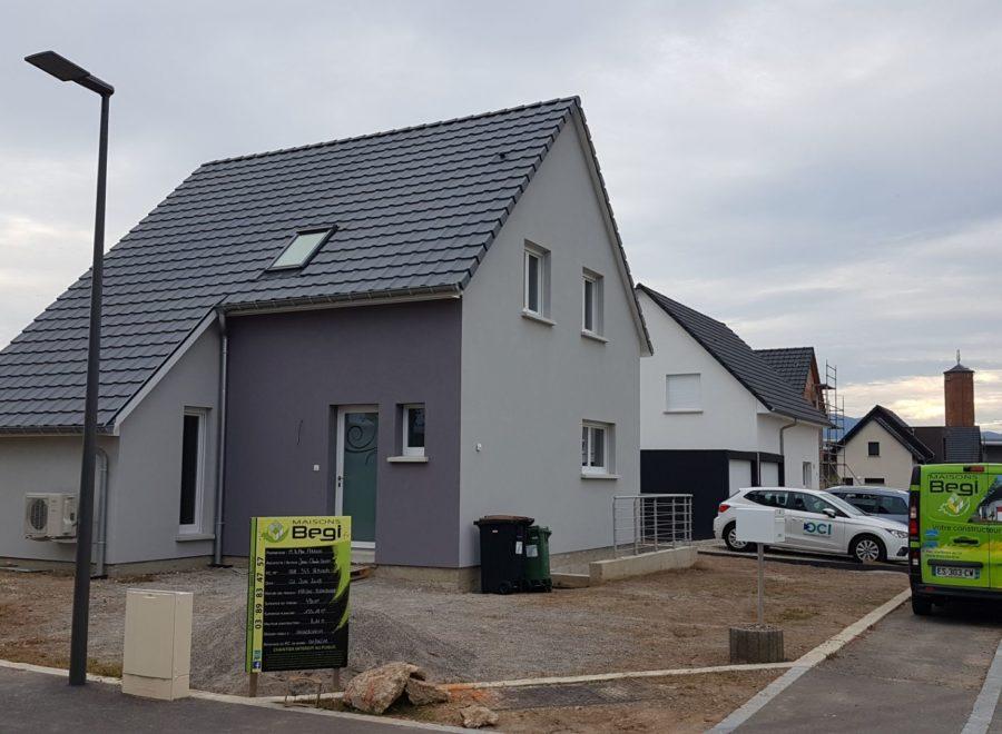 Maison deux pans à Ungersheim