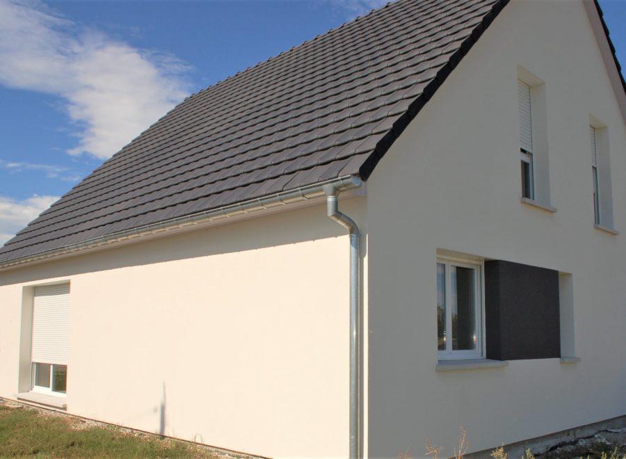 Maison deux pans Alsace Geiswasser