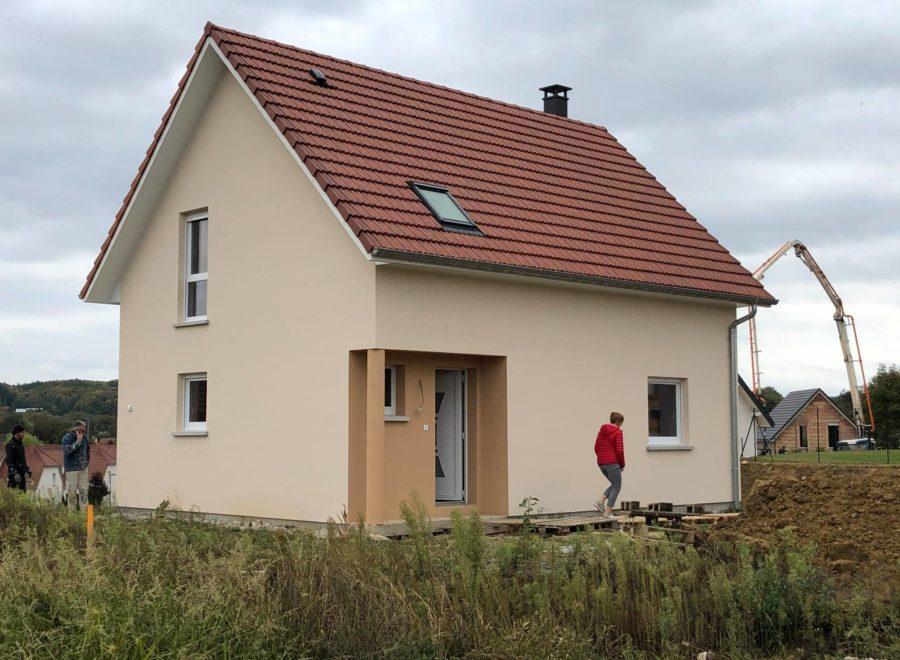 Maison deux pans Hirtzbach