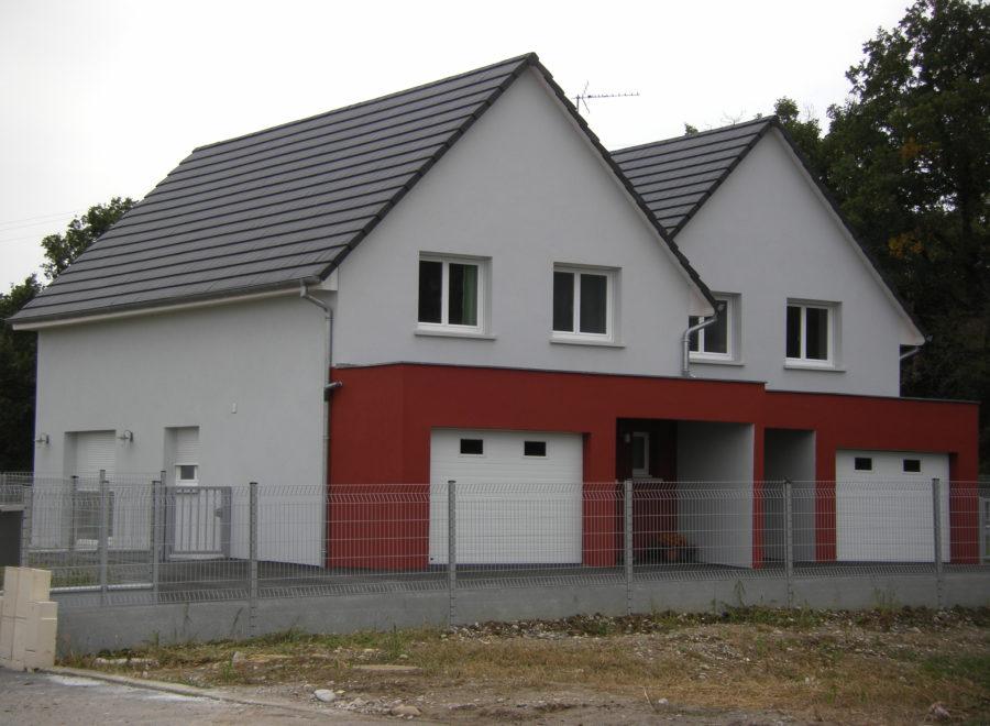 Maisons jumelées
