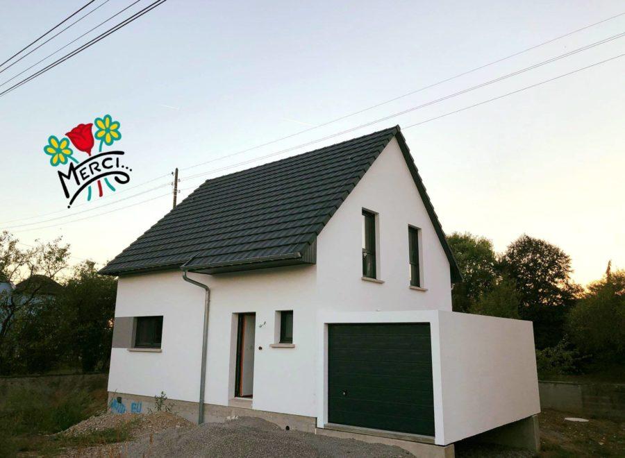 Reguisheim maison garage accolé