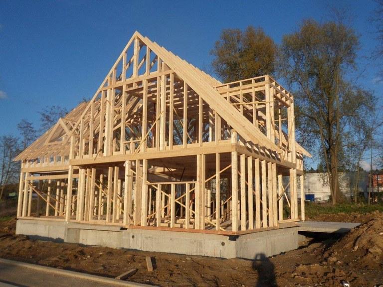 ossature bois en construction