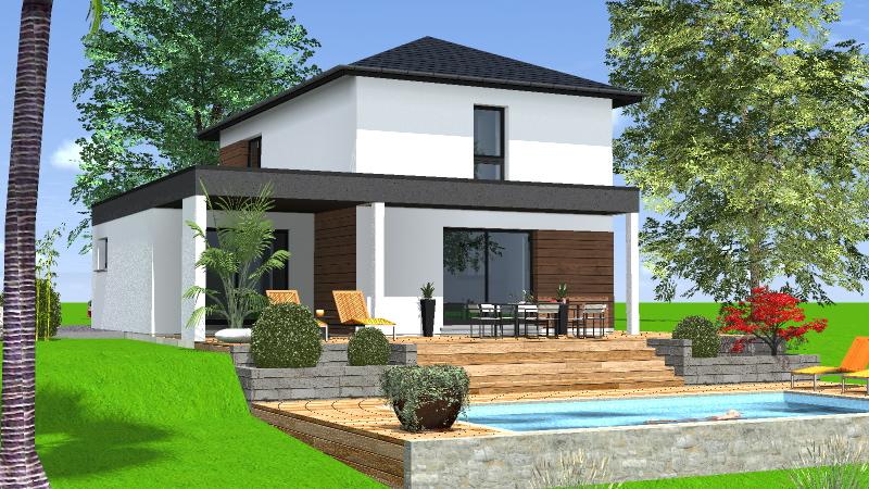 maisons 4 pans