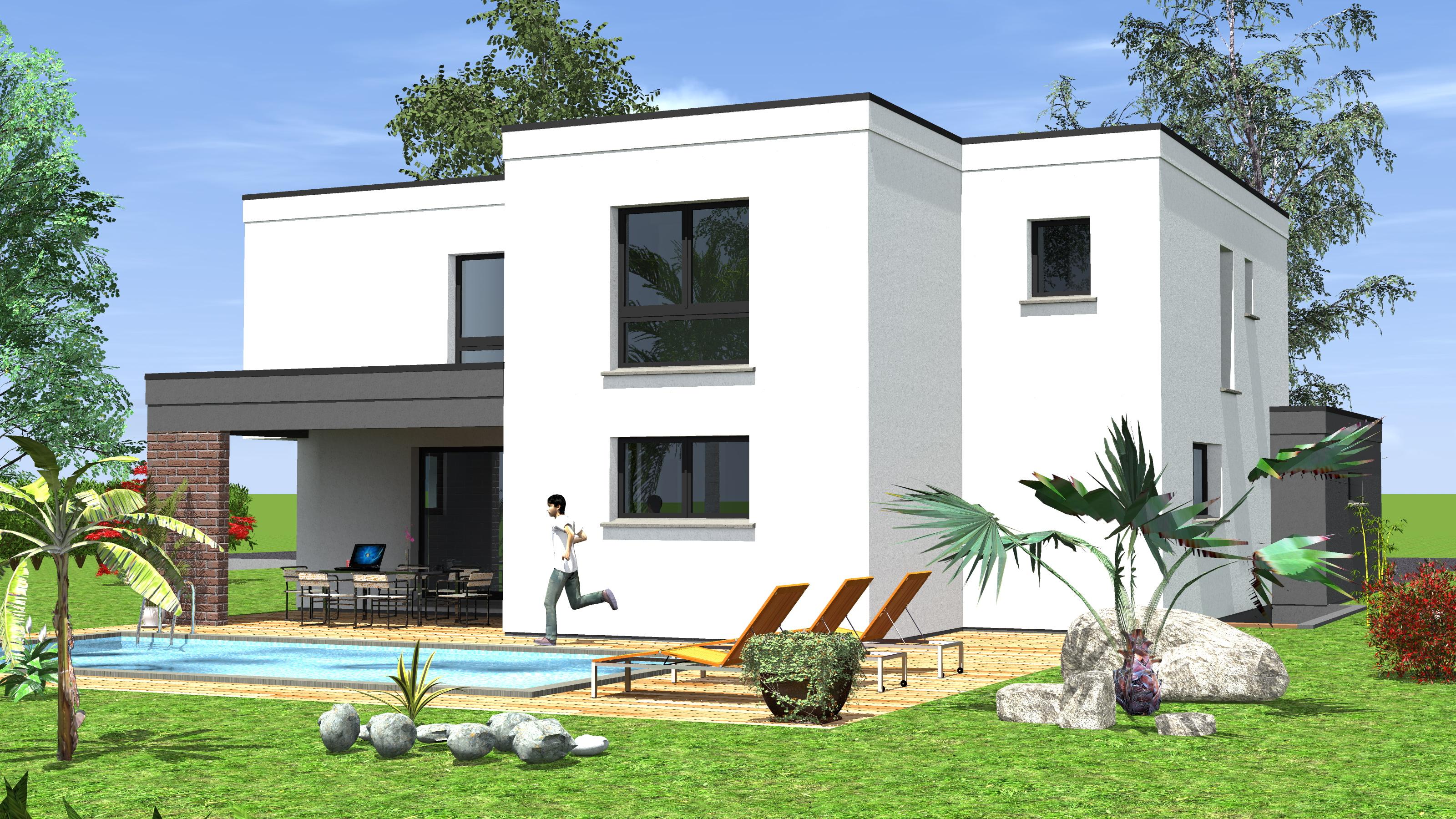 Construction de maisons cubiques maisons begi for Maison de construction