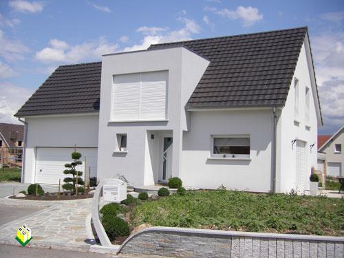 maison deux pans réalisée