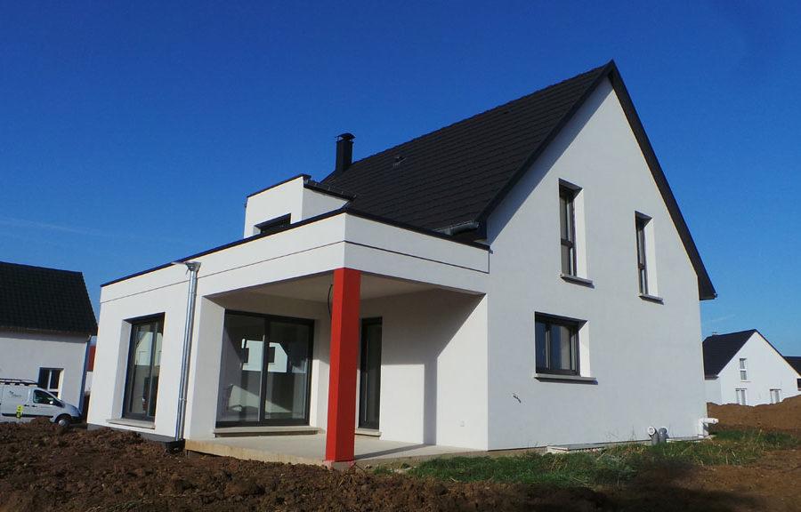 maison 2 pans réalisée