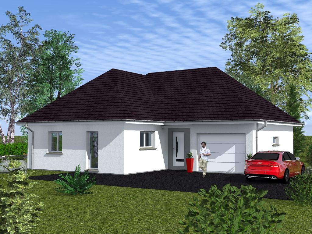 Maisons begi constructions maison en l etage ou plain piedmaisons begi - Photo d une maison ...