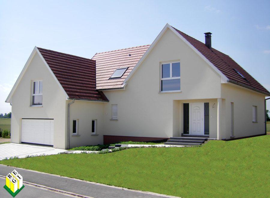 maisons en L réalisation