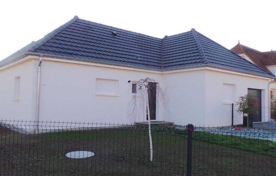 maisons en L réalisée