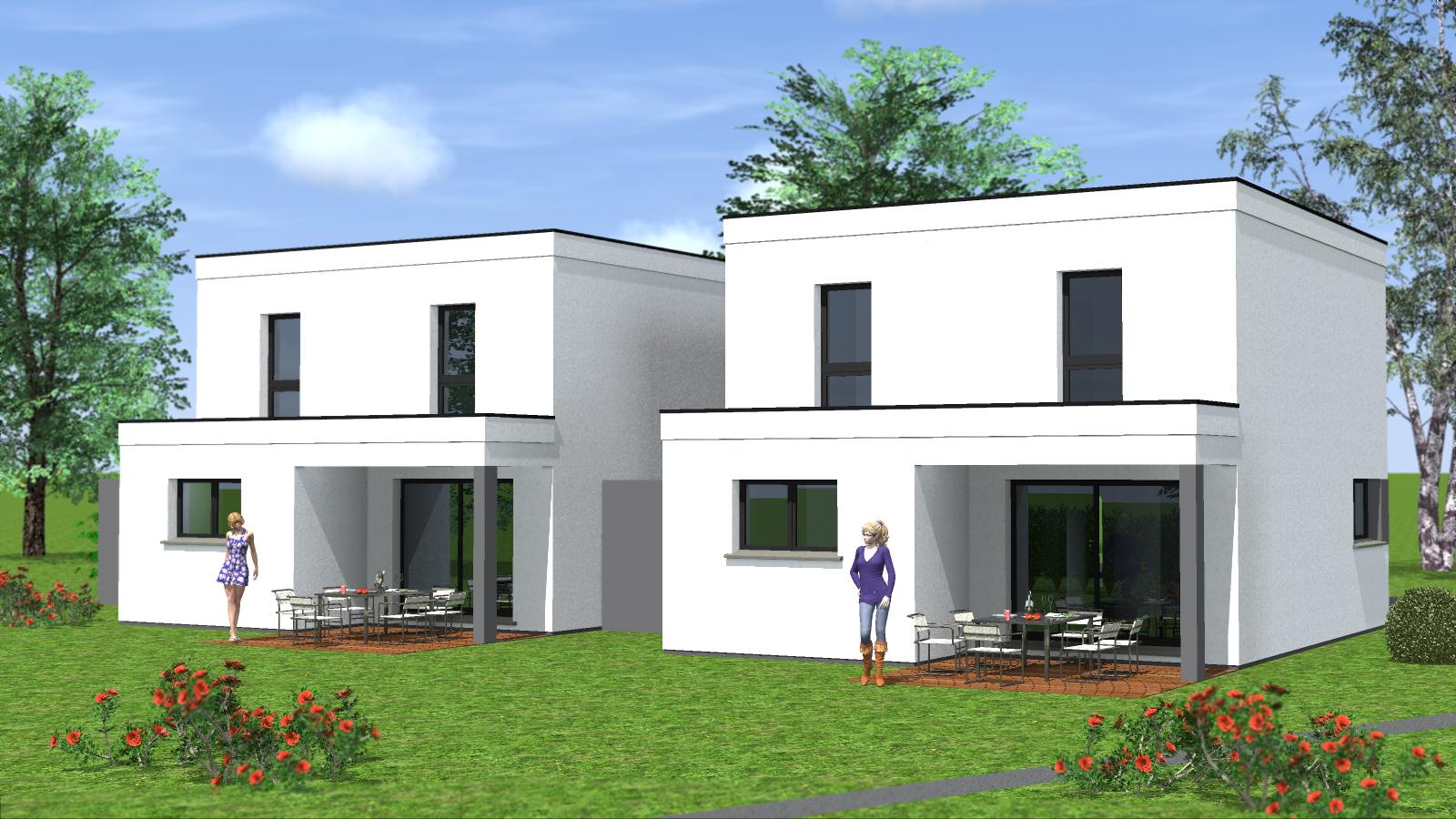 Constructions Maisons Jumelees Maisons Begi Maisons Begi