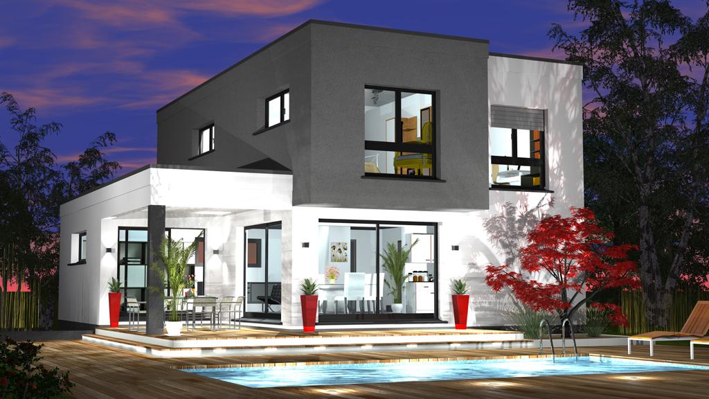 Construction Maison Contemporaine Maisons Begimaisons Begi