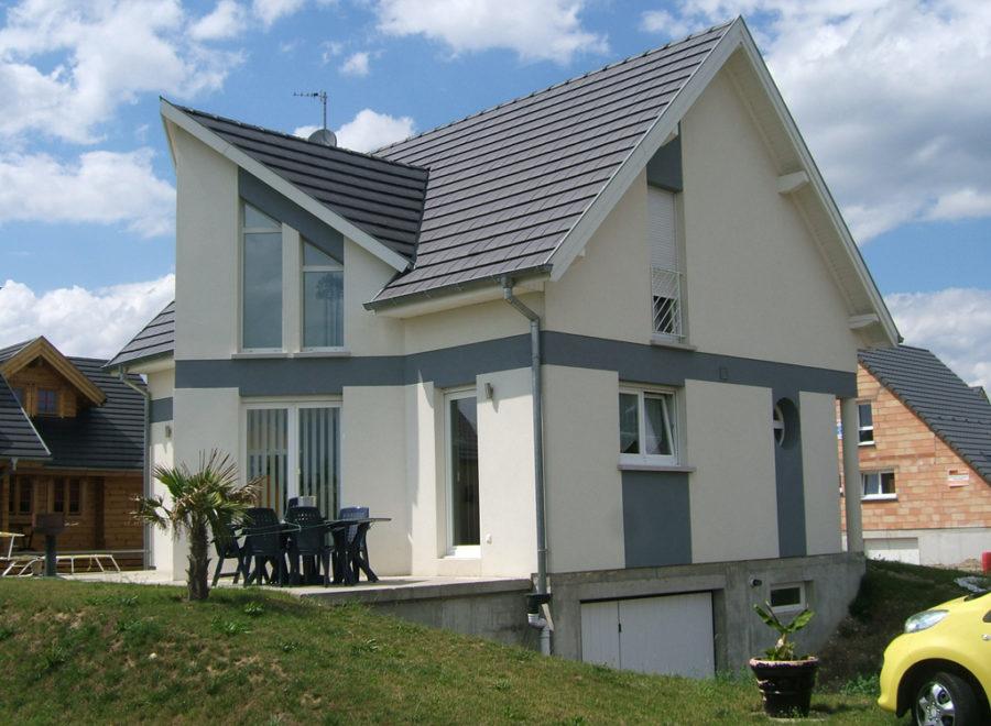 maison contemporaine réalisation