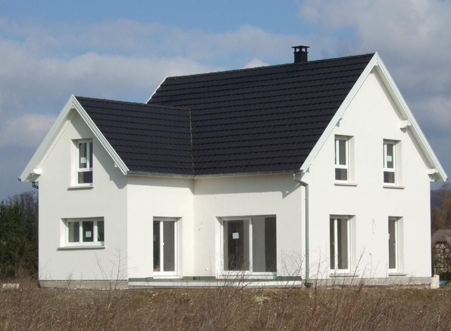 maison en L réalisation
