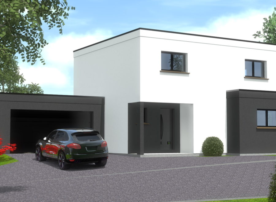 maison garage accolé