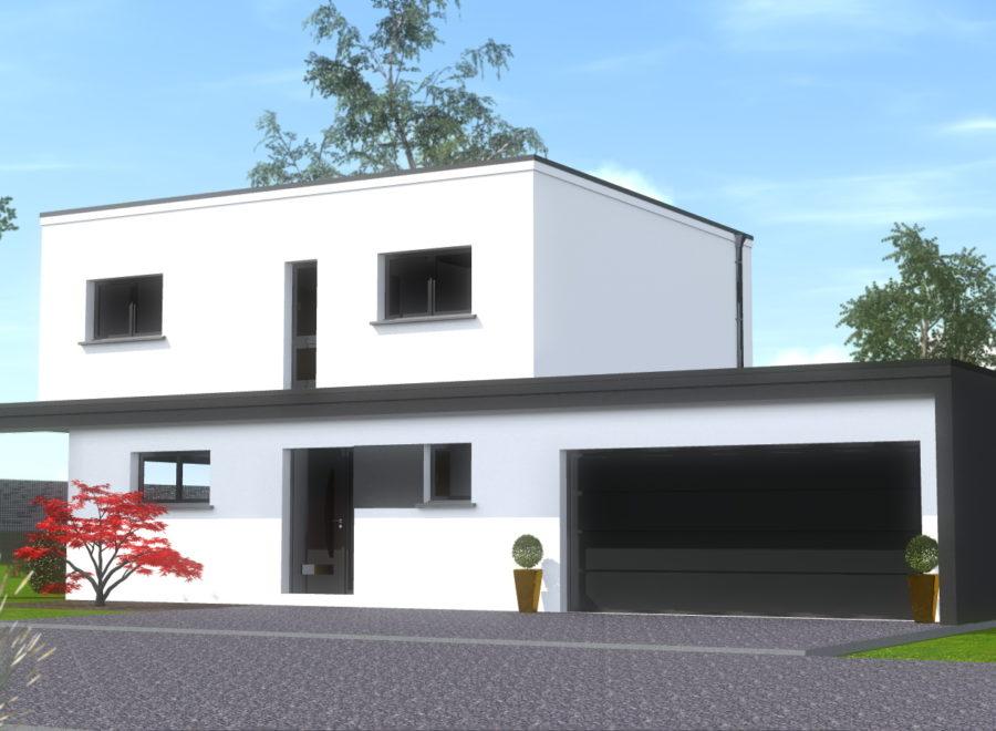maisons garage accolé