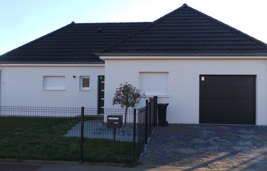 maison plain-pied réalisée