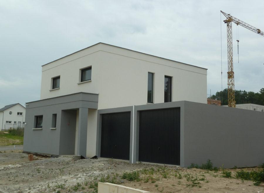 maison toit plat réalisée