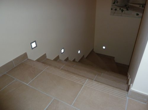 Eclairage montée d'escaliers