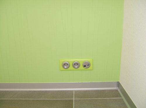 Prises assorties à la couleur de vos murs