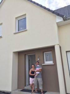 Biltzheim maison garage accolé