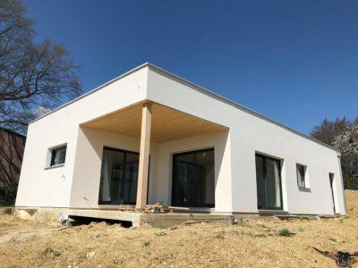 Alsace maison ossature bois contemporaine