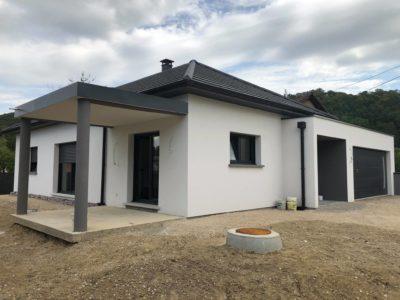 Maison de plain-pied 4 pans Tagolsheim