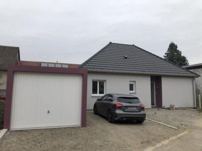 Construction ossature bois Reguisheim.