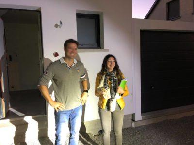 Réception à Réguisheim maison garage accolé