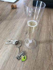 Remise des clés à Munchhouse