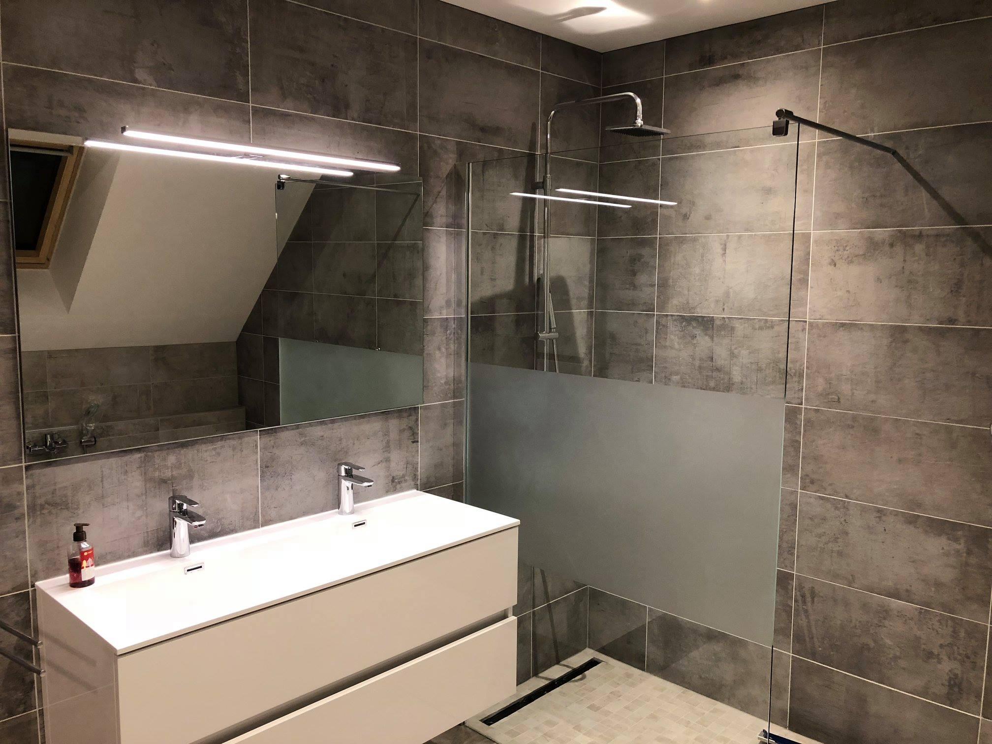 Espace salle de bains - Maisons BEGI -Maisons BEGI