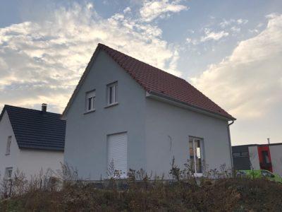Construction maison deux pans Dessenheim