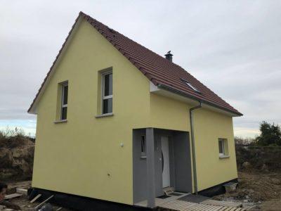 Construction secteur Ensisheim maison deux pans à étage
