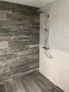 Magnifique douche à l'italienne maison 2 pans Rixheim