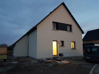 Maison deux pans Weckolsheim