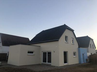 Maison jumelée par garage Berrwiller