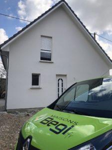 Maison deux pans Orschwihr