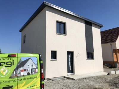 Maison ossature bois Dessenheim