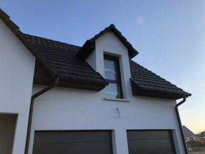 Belle maison garage accolé Alsace