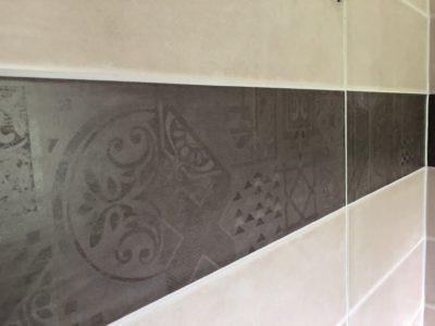 Carrelage salle de bain finitions Begi