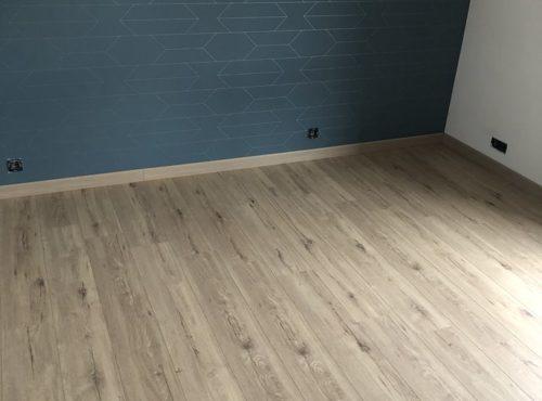 Chambre en parquet bois
