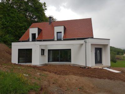 Belle maison contemporaine Alsace