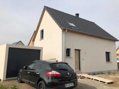 Construction deux pans Ungersheim