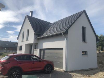 Maison garage accolé Blodelsheim
