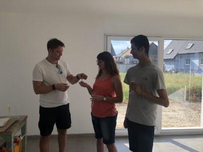 Remise des clés à Blodelsheim