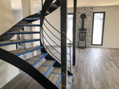 Bel escalier contemporain Balschwiller